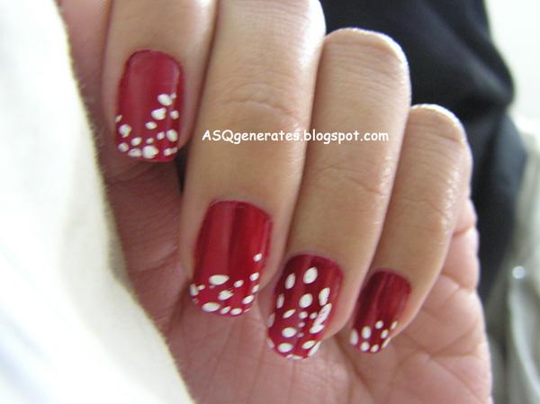 Holidays Nails final look
