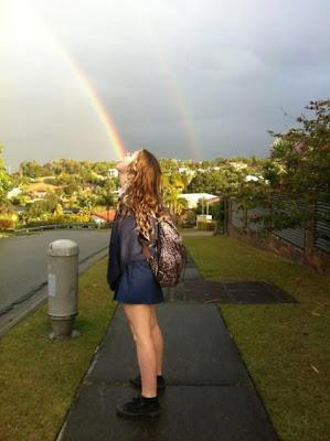 probando el arcoiris