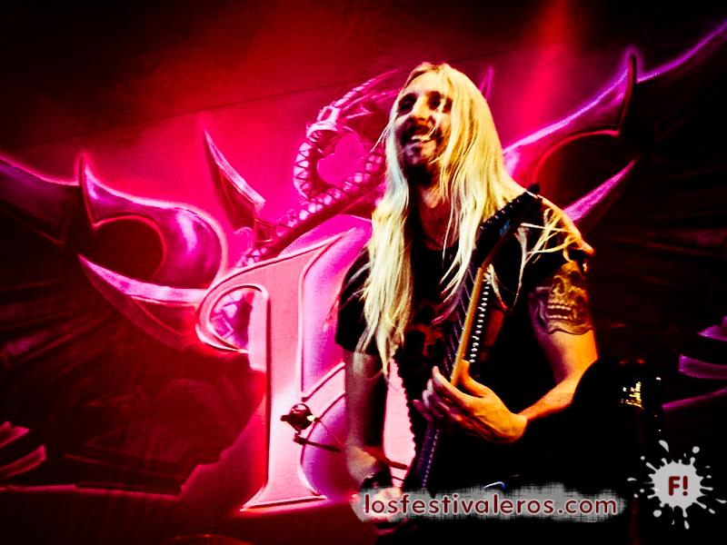 Hammerfall. Festival Leyendas del Rock 2014