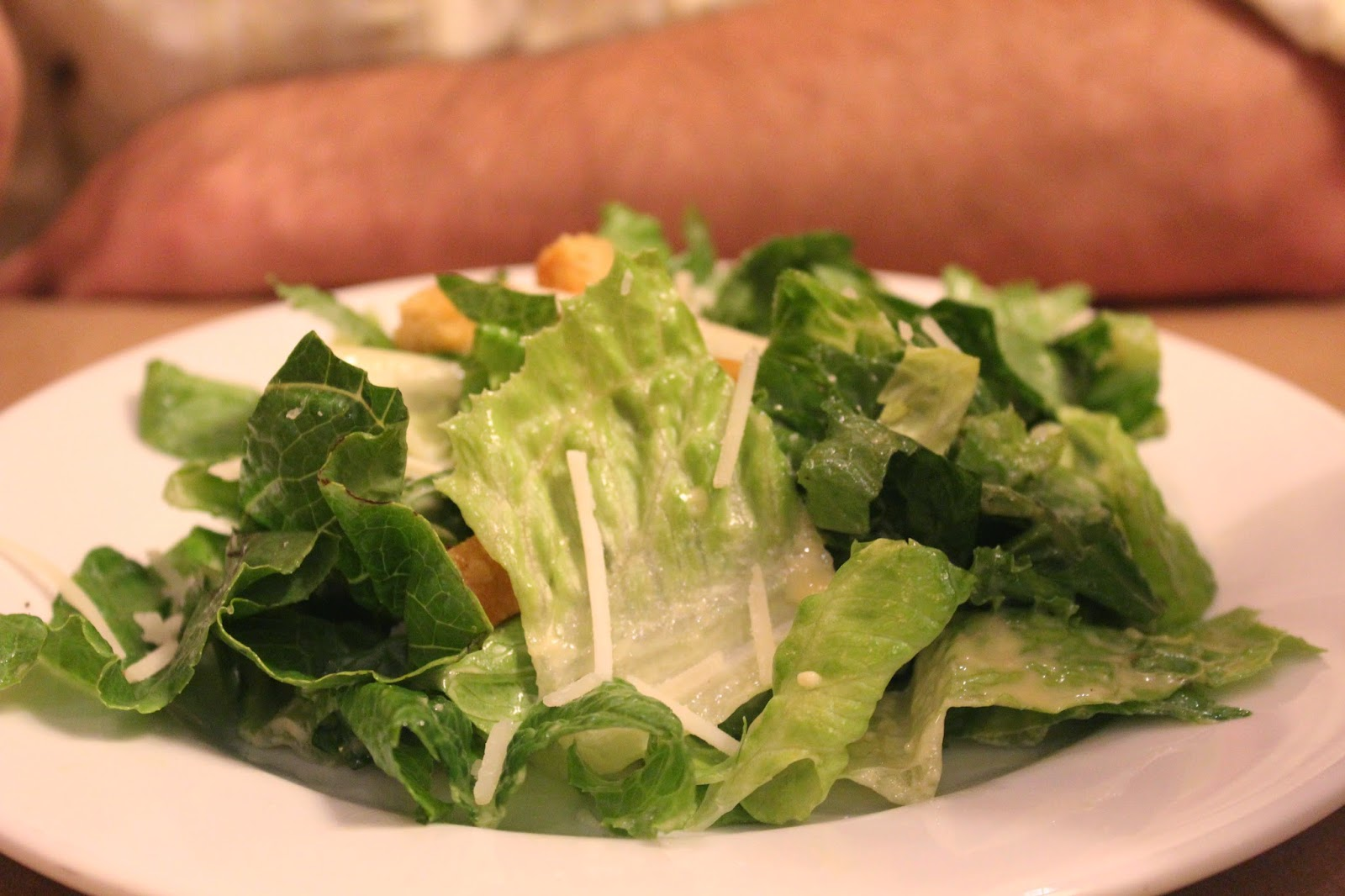 Caesar salad at Gibbet Hill Grill, Groton, Mass.
