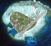 The airstrip and naval facilities on Yongxing Island (yongxing island)