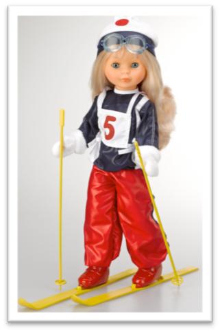 Nancy reedicion esquiadora