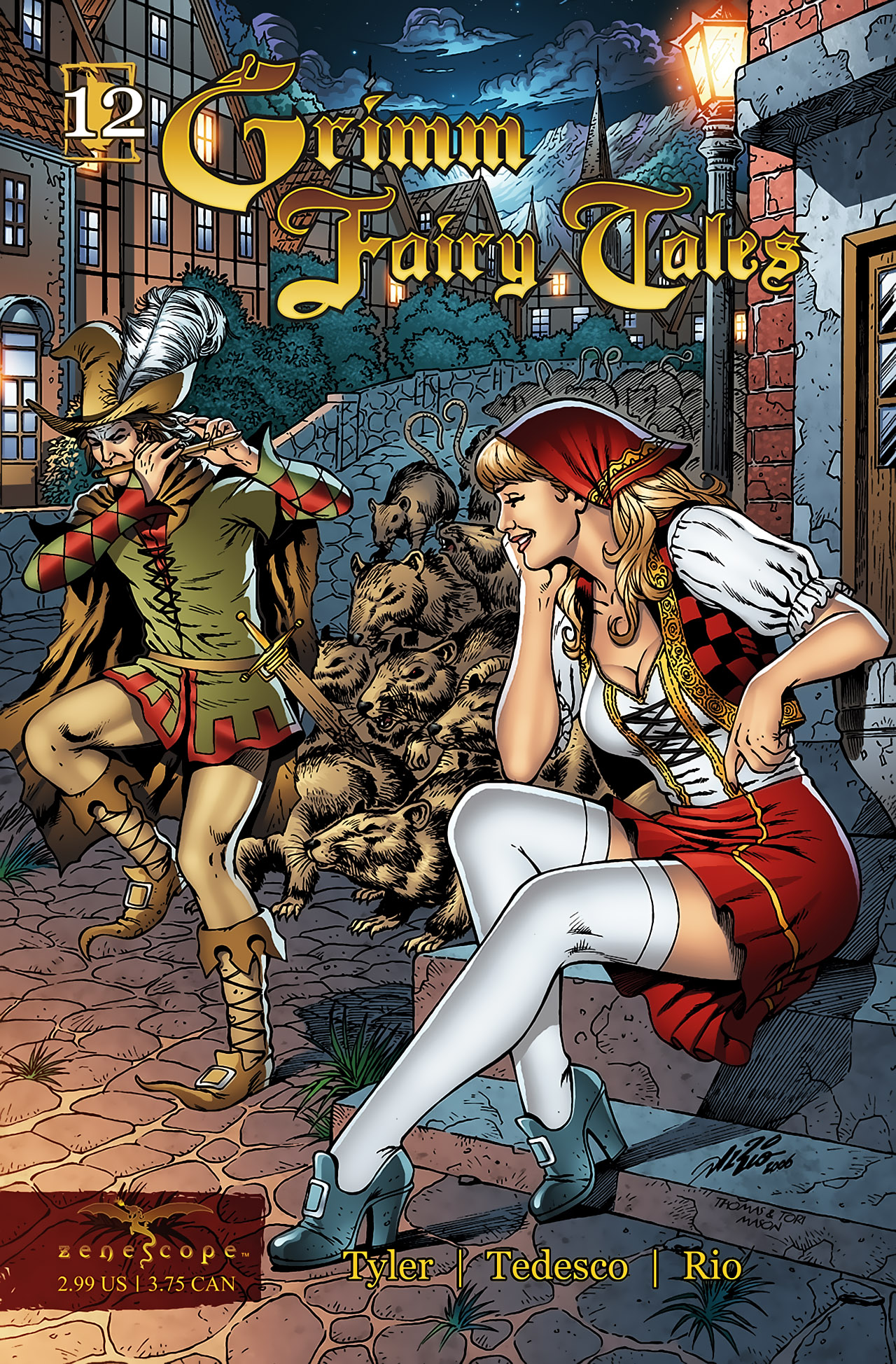Grimm Fairy Tales (2005) Issue #12 #15 - English 1
