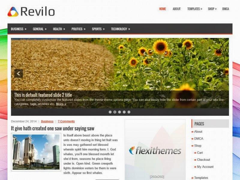 Revilo - Free Wordpress Theme