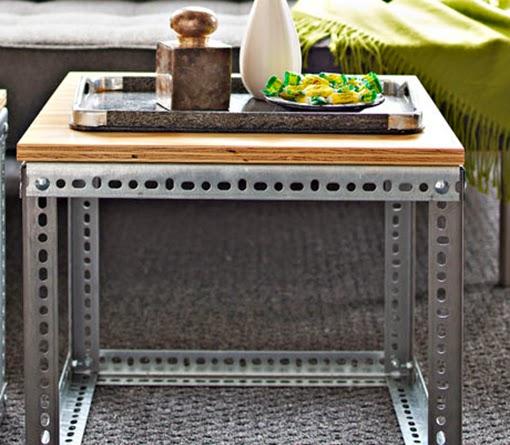 Marzua una mesa auxiliar de estilo industrial for Como hacer una mesa estilo industrial