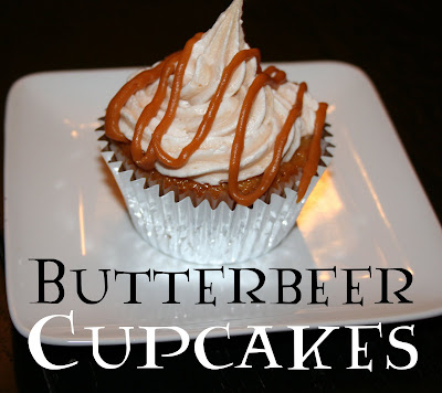 Butterbeer Cupcakes With Cake Mix