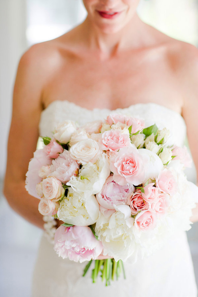 Wedding Trends} : Peony Bouquets - Part 1 - Belle the Magazine