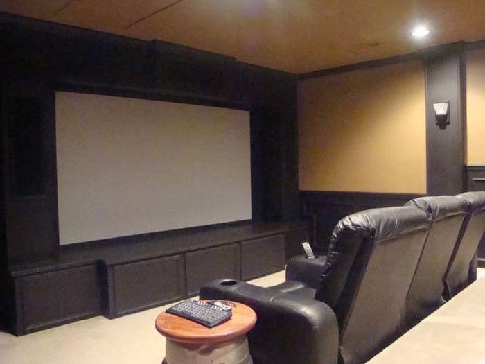 Crea tu propia sala de cine en casa - Fotos salas de cine en casa ...