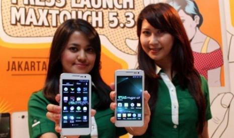 MAXTouch 5.3, HP Android Layar 5 inci 1,6 Jutaan