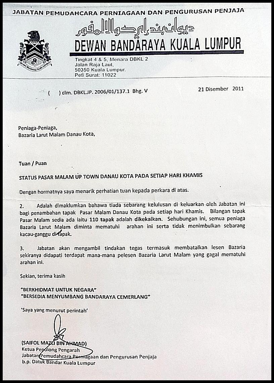 Contoh Surat Sokongan Permohonan Rumah Dbkl Contoh Surat