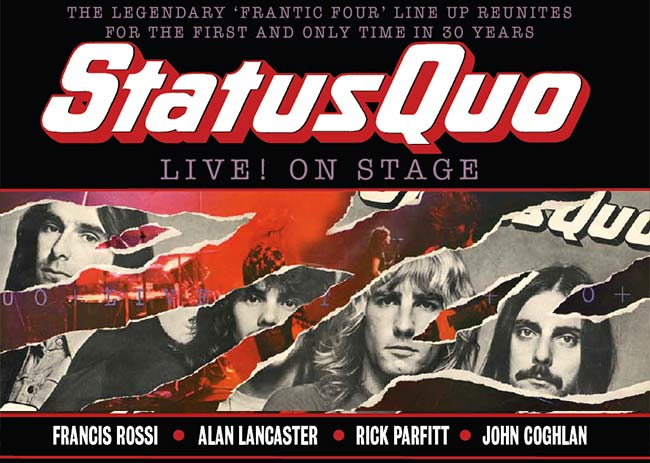 Status Quo The Frantic Four Reunion Live At Wembley Arena