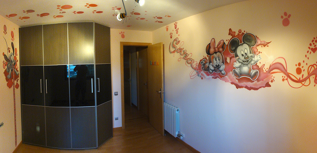 Berok Graffiti mural profesional en Barcelona: Murales ...
