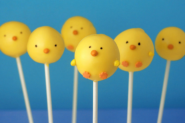 Chick Cake Pops Images : Cake Pops Ideas