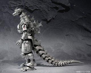 """Bandai SH Monsterarts Mechagodzilla """"Kiryu"""" Figure"""