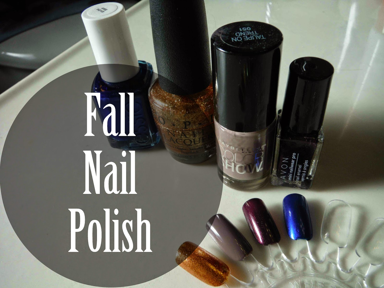 fall nail polish | marlee and you