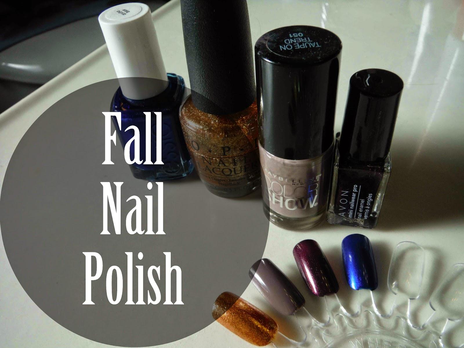 fall nail polish   marlee and you
