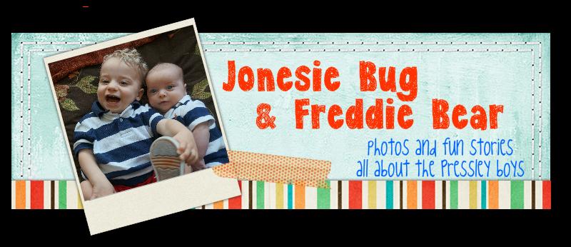 Jonesie Bug & Freddie Bear
