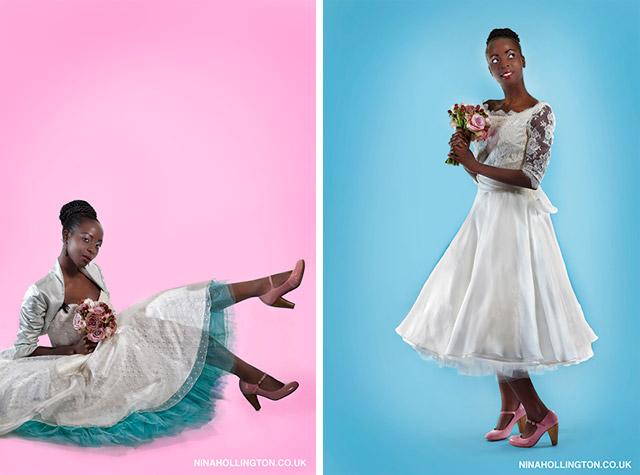 NINA HOLLINGTON WEDDING PHOTOGRAPHY: Own That Dress!
