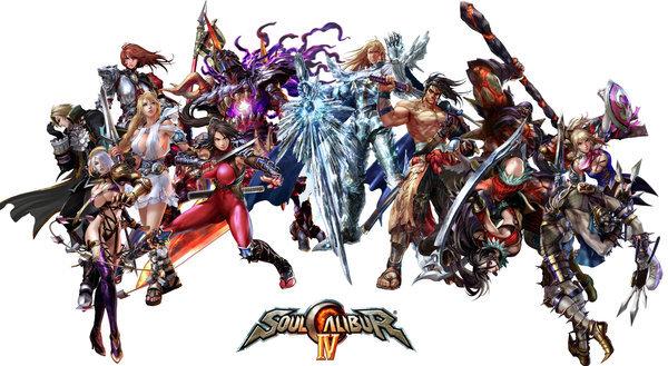 El carisma y cantidad del Soul Calibur tampoco se queda atras Soul Calibur 1 Characters