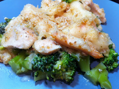 Cooking with SAHD: Chicken Divan, Lightened Up