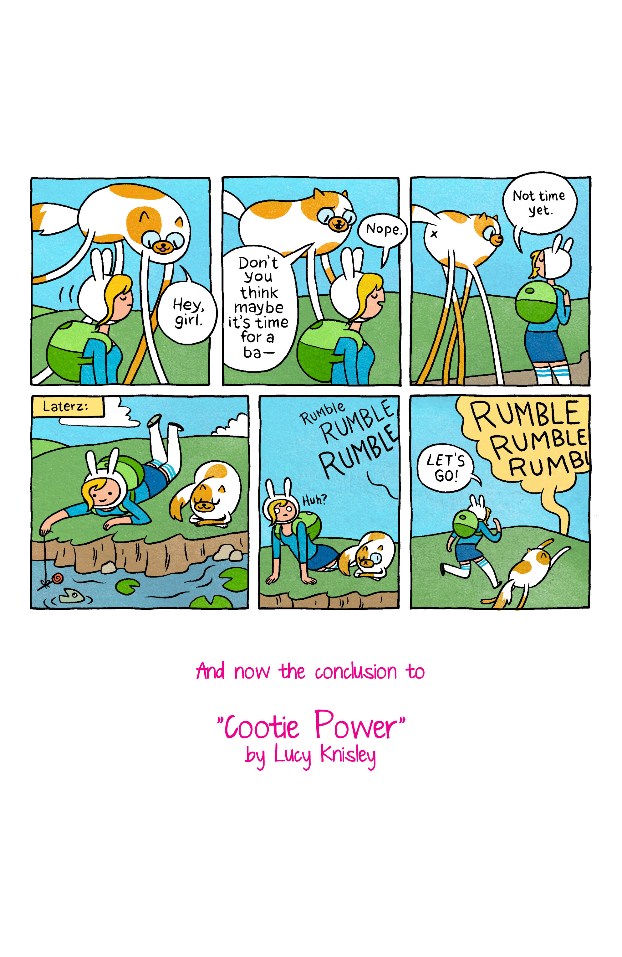 Read online Adventure Time with Fionna & Cake comic -  Issue #5 - 23