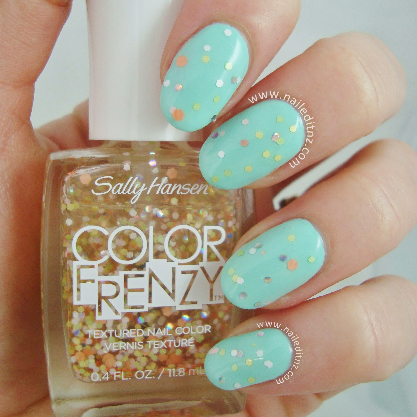 Sally Hansen Color Frenzy | Swatches & Review