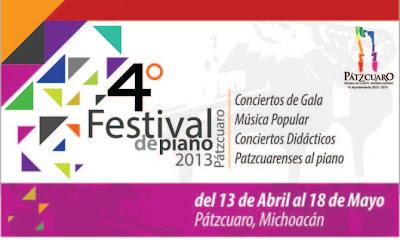 IV Festival de Piano de Pátzcuaro