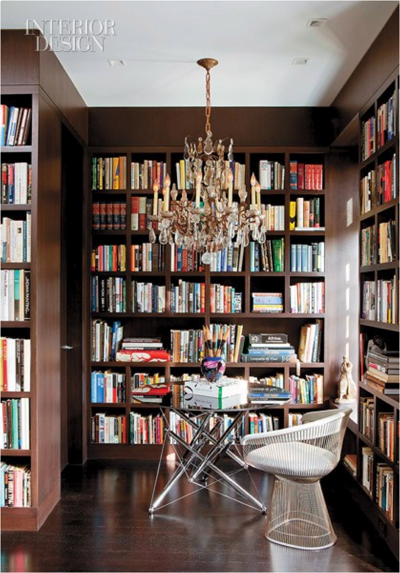 Let 39 s decorate online creating a relaxing home library Small library room design ideas