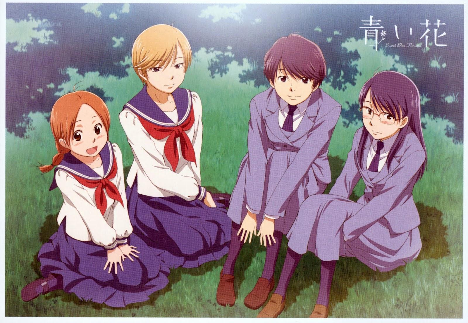 The Four Main S From Right To Left Akira Kyouko Yasuko And Fumi