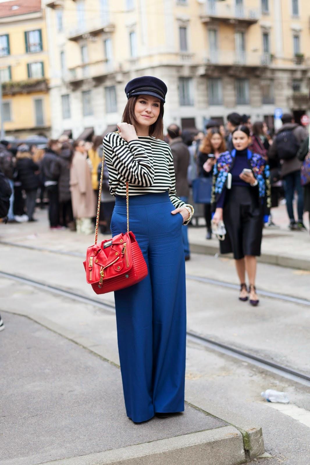 Milan Fashion Week f/w 15-16 street style