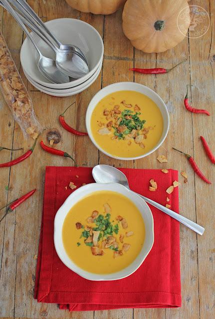 Cocinando entre olivos sopa tailandesa de calabaza y coco for Cocinando entre olivos