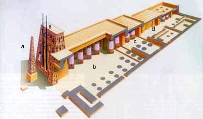 Historia del arte actividades sobre la arquitectura egipcia for Arquitectura egipcia