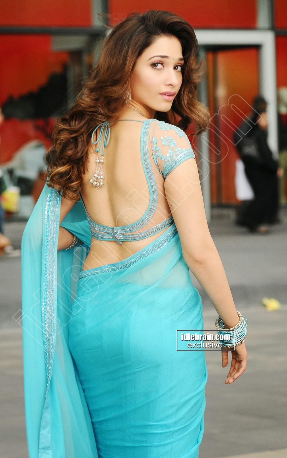 kajal agarwal tamanna hot saree photos gallery