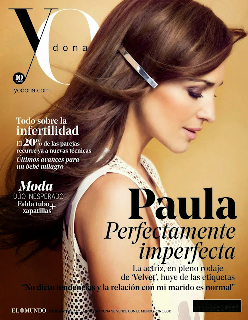 Actress @ Paula Echevarria by Antonio Terron for Yo Dona Spain, May 2015