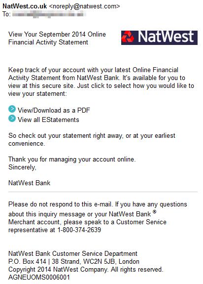 Pdf banking natwest online