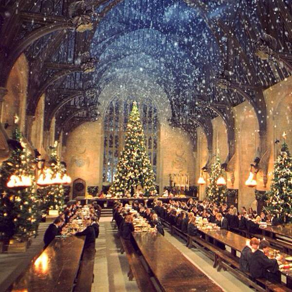Why I'd Love to Spend Christmas at Hogwarts - Ali Caitrin