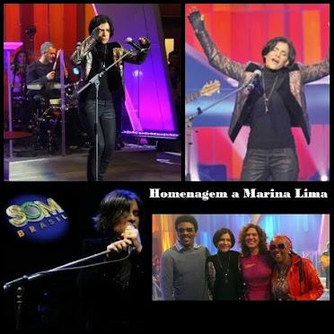 Homenagem a Marina Lima