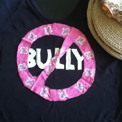 """No Bully"" T-shirt design"