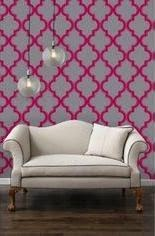 Ma Bicyclette: Rented Home Inspiration   Temporary Home Improvements - Temporary Wallpaper