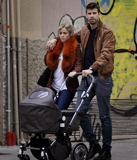 Shakira's second pregnancy rumor with Gerard Pique