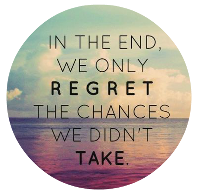 Live With No Regrets Quote