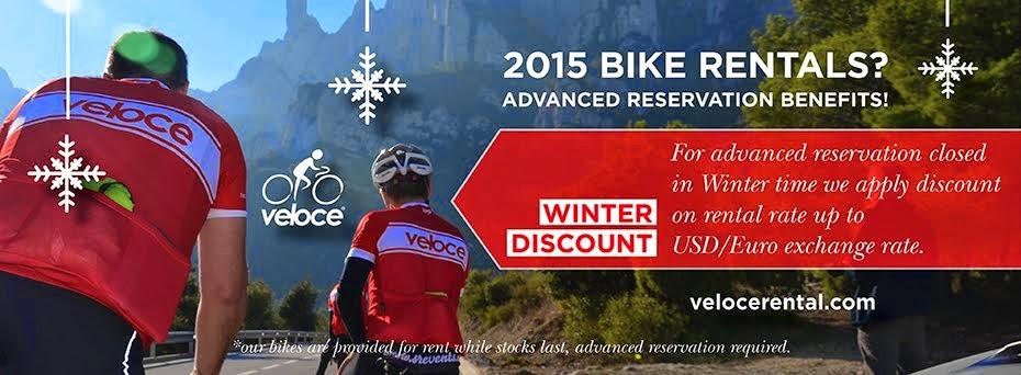Veloce ® Bike Rental Company