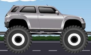 Permainan Mobil Extreme Monster Car