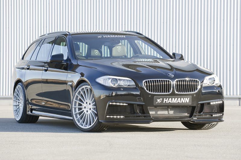 HAMANN offers exclusive accessory range for the BMW 5 Series Touring ...