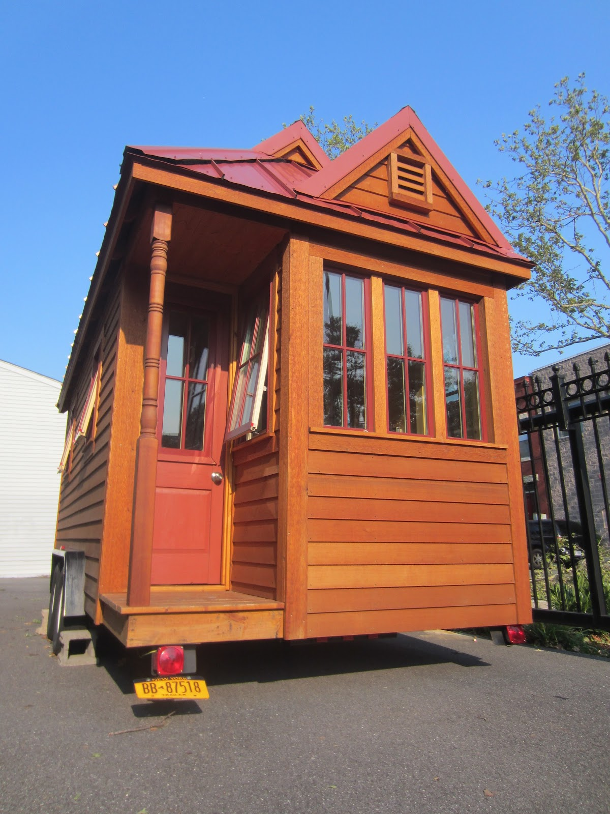 Tiny House Tumbleweed Fencl Photos From