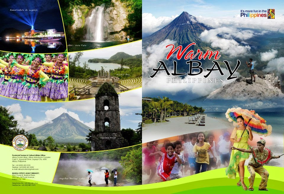 Albay's flyer-folder-holder for ITB Berlin 2013