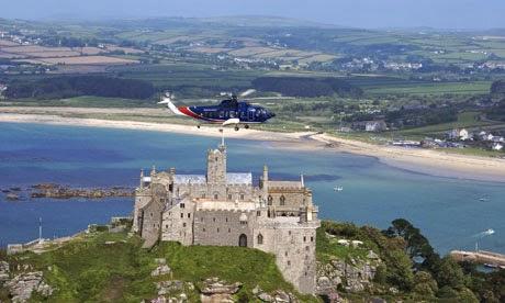 Helikopter - Wyspy Scilly - Wielka Brytania