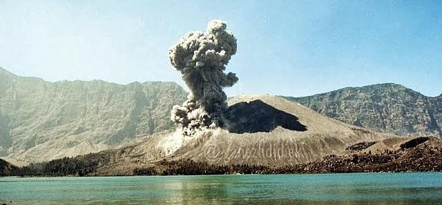 Gunung Barujari Rinjani