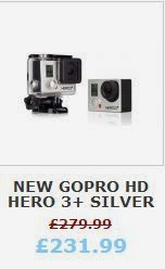 NEW GoPro HD HERO 3+ Silver Edition HERO3+ Plus Action Sports Camera