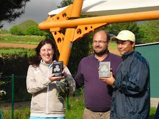 Peter Mervin-Pilar Rodriguez ganadores Campeonato Gallego de Parejas Mixtas 2012